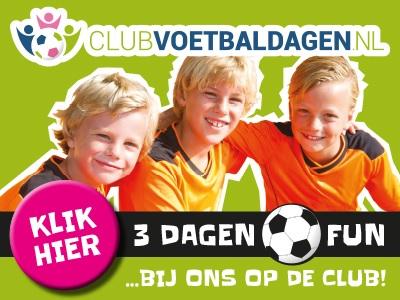 voetbaldagen banner liggend